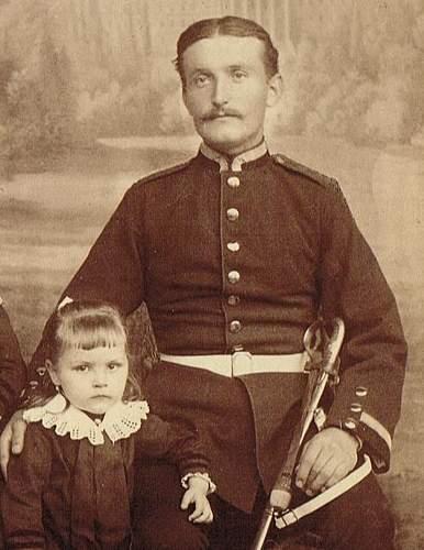 German CDV unknown uniform
