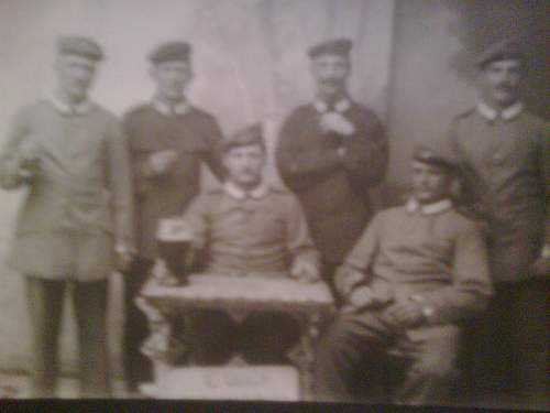 Sample of WWI Diary, Map and Pics