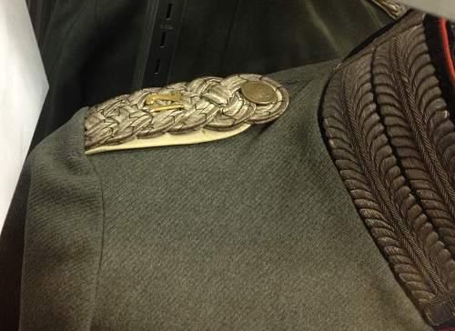 Officers Uniform.