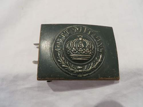 Is this a real ww1 buckle?