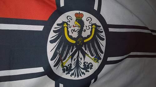 Imperial German Warflags