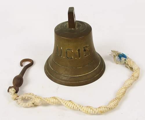 ww1 uboat bell ??