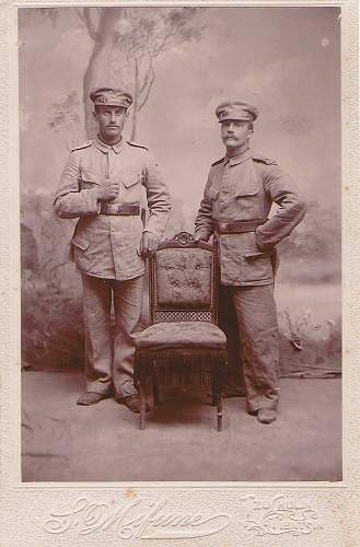Picture german soldiers boxer-war 1901