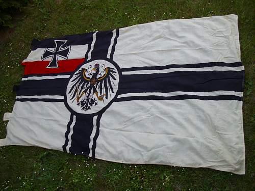 WW1 Kriegsflagge Genuine?