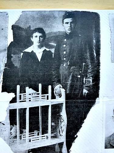 WWI soldier cap & uniform identification help