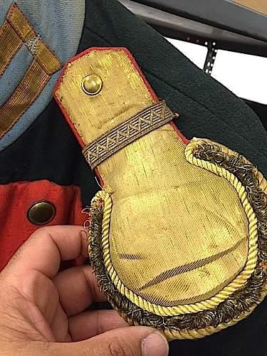 Ulanka ? Cutaway tunic - help please