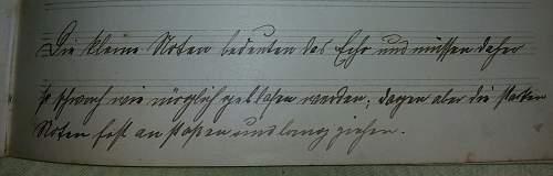 Need help to identify handwriting