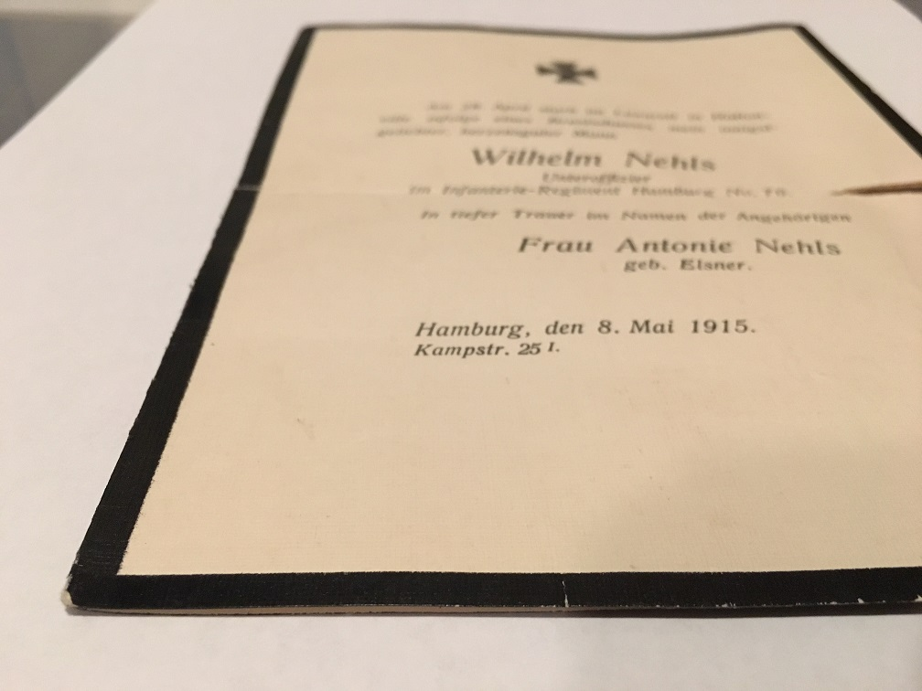 Question Wwi Death Certificate Real Or Fake