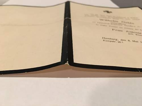 WWI Death Certificate - Real or fake?