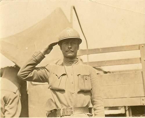 WWI Russian Shock Battalion Officer