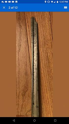 Imperial Russian sword Identification