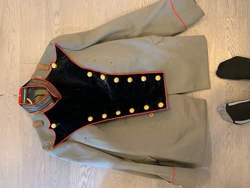 Artillery lieutenant dress uniform ?