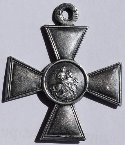 Saint George cross 4 class - opinions needed