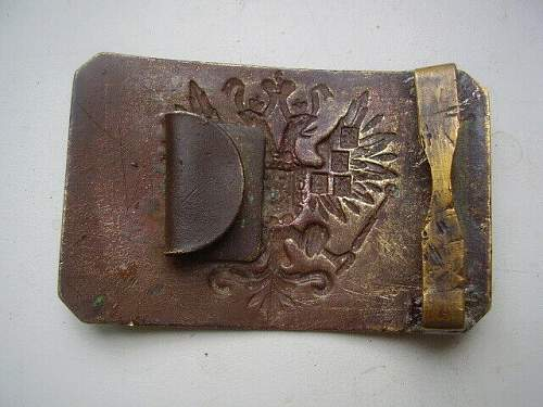 Imperial belt buckle original?