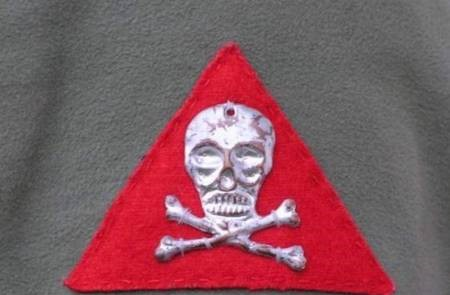 skull of legions in Russia, 1st Czechoslovak Assault Battalion