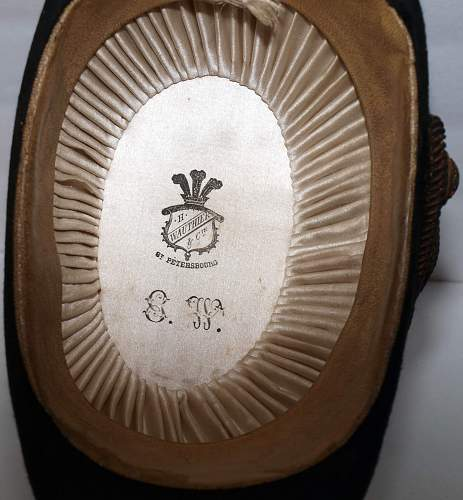 Imperial Russian Naval Hat & case