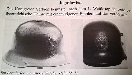 M16 Stahlhelm in Russian White Army Use