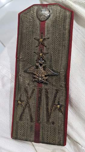 Help with identifying Russian Imperial Shoulder Boards