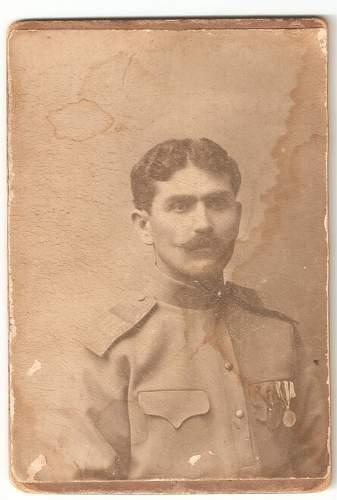 Russian  uniform,Caucasus January 1917