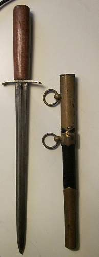 Russian dagger from the fortress of Sveaborg in Helsinki