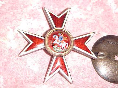 Please help identify this Russian? Order? Saint George?