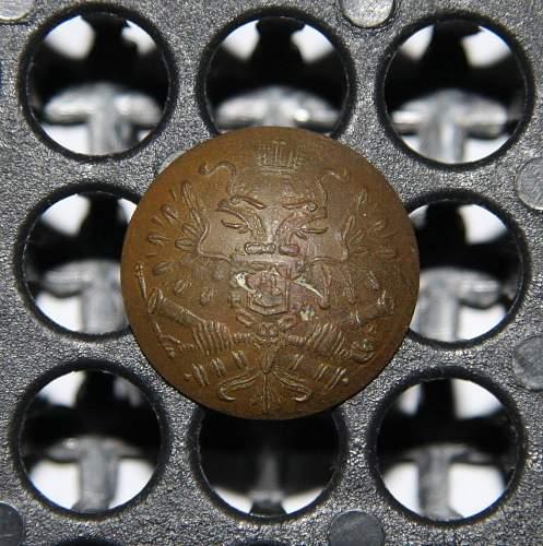 fake russian artillery button?