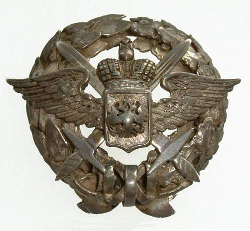 For your enjoyment ,ORIGINAL Russian Aviators 1917 pilots badge
