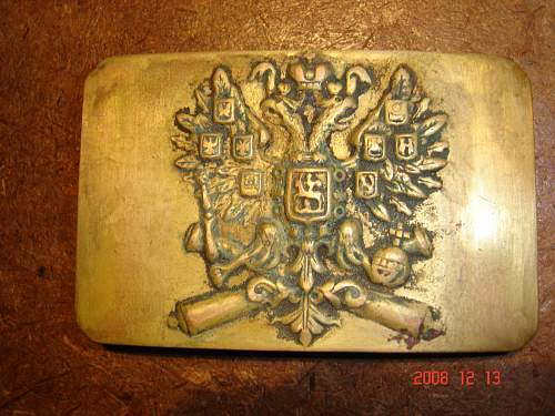 Russian Belt Buckle! Can anyone identify?
