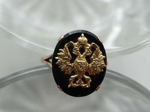 Czarist Hawk Ring