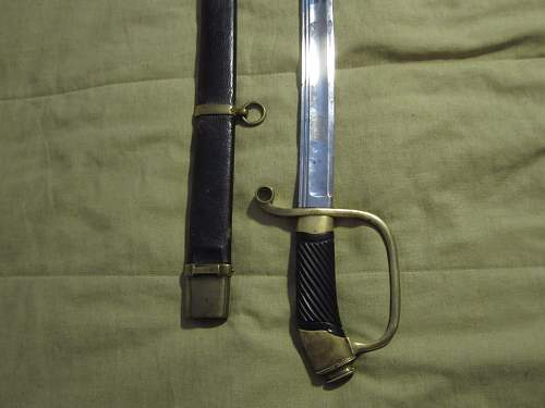 Help needed identifying a cavalry officer's sabre