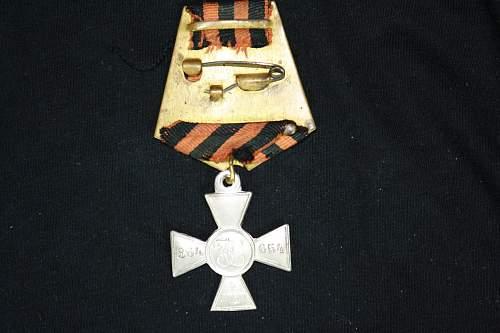 Cross of St. George 4th class