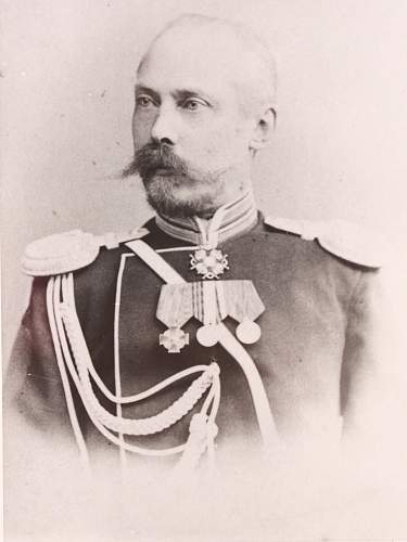Identify officer's uniform from photo - abt 1890