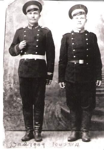 Would appreciate help identifying my husband's Grandfather's uniform.