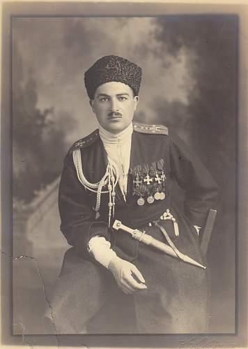 Sayad Zeynalov.  Order of St. George full recipient.