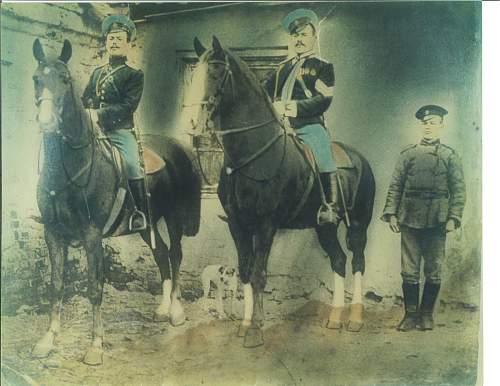 White Russian Cavalry Uniform - need help identifying