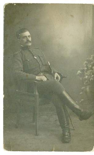 Polish Great-grandfather in White Army Uniform