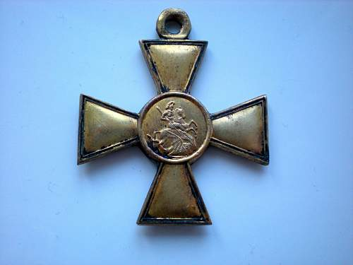 St. George Cross 1st - opinions?