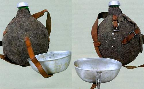 Russian Imperial Army canteens