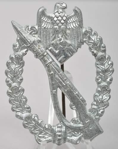 Infanterie Sturmabzeichen in Silber - GWL
