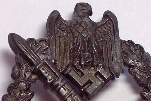 Infanterie Sturmabzeichen  Another First For Me
