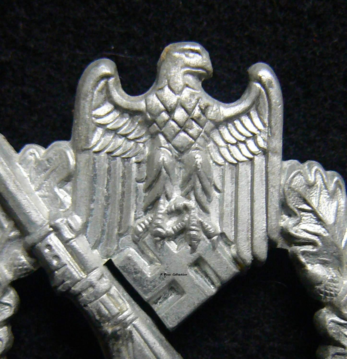 Infantrie Sturmabzeichen in Silver, Friedrich Orth, L/14  | Sõja
