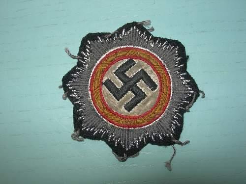 Infanterie Sturmabzeichen & Deutsche Kreuz - original?