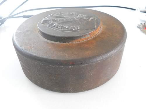 Infanterie Sturmabzeichen fabrication mold