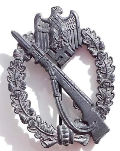 Opinions on Fritz Zimmerman Infanterie Sturmabzeichen