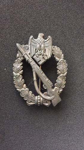 Infanterie Sturmabzeichen  SHuCo Original or not aka Fake?