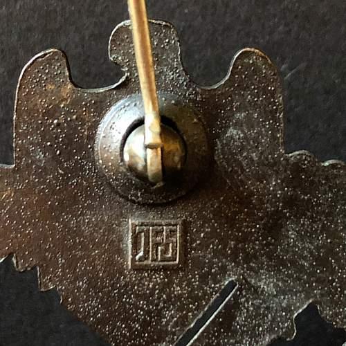 Infantrie Sturmabzeichen in Bronze - JFS