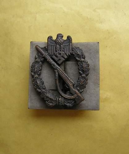 Original Infanterie Sturmabzeichen L/56?