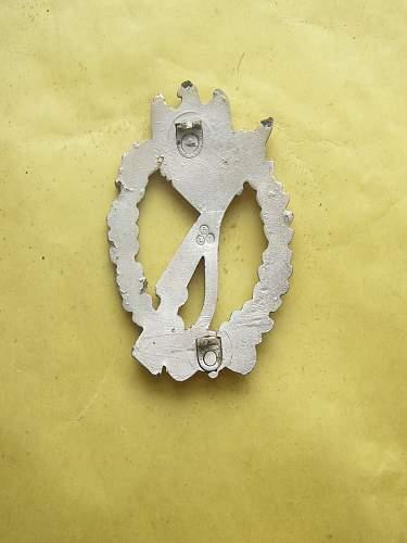 Infanterie Sturmabzeichen in Silber