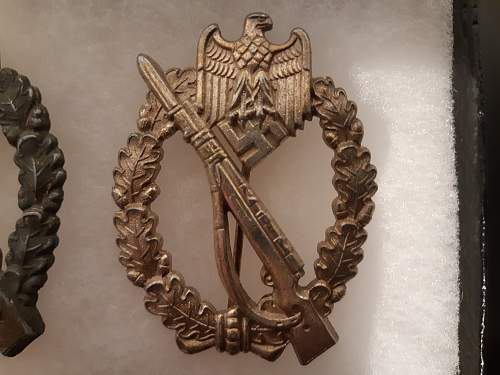 Infanterie Sturmabzeichen in Silber which maker?