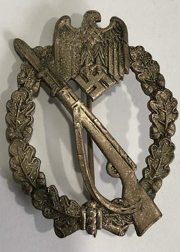 Infanterie Sturmabzeichen -Infantry Assualt Badge Real or Fake??